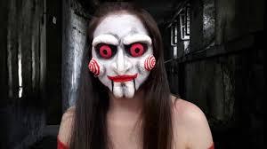 Saw Halloween Makeup by Jigsaw Sfx Saw Maquillaje Halloween Latex Efectos Especiales