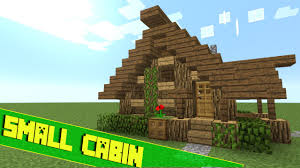 How To Build A Small House Minecraft How To Build A Small Survival House Tutorial Youtube