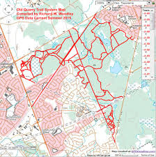 Ncc Map Richard U0027s Gps Trail Maps Old Quarry Trail System Remapped 2015
