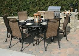 6 Seat Patio Table And Chairs Patio Table 6 Chairs Stgrupp