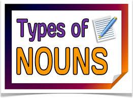 english grammar types of nouns letterpile