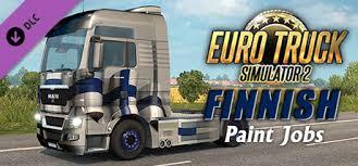 euro truck simulator 2 finnish paint jobs pack on steam
