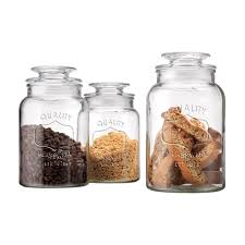 amazon com home essentials impression quality glass canisters