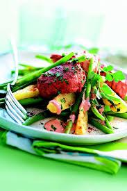 cuisiner les haricots verts recette salade de haricots verts au porc tandoori