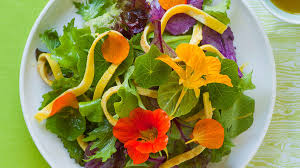 nasturtium flowers 10 dishes featuring edible flowers sunset