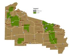 Wisconsin Campgrounds Map by Chequamegon Nicolet National Forest Recreation