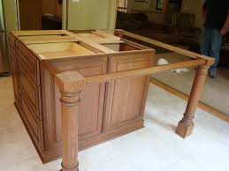 mahogany wood unfinished windham door kitchen island with legs