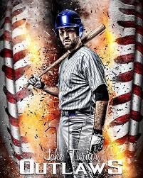 sports poster photo template baseball inferno photoshop