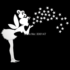 Decoration Star Wall Decals Home by Aliexpress Com Buy 3d Mirror Wall Sticker Home Decor Diy Fairy