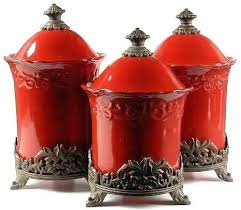 red kitchen canisters red kitchen canister sets beautiful red kitchen canisters red