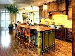 butcher block kitchen island breakfast bar kitchen island with breakfast bar trendy l shaped kitchen photo in