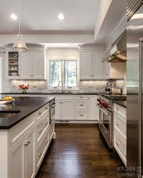 Woodbridge Kitchen Cabinets Black And White Kitchen Cabinetry Woodmode Brookhaven With Nordic