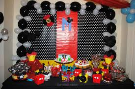 mickey mouse table l candy buffet favors more llc mickey mouse table set up