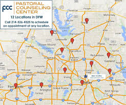 Map Of Dfw Michael Hyder Licensed Professional Counselor Flower Mound Tx