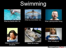 What People Think Meme - swimming what people think i do quotes