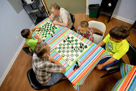 kids learn to play chess at the fruitland park library news