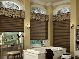 window treatment ideas for bathroom classic window valances for luxury bathroom idea cool window