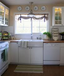 Gray Burlap Curtains Burlap Curtains Kitchen Traditional With Butcher Block