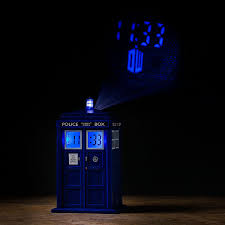 light projection alarm clock gift search doctor who tardis projection alarm clock