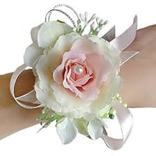 Corsages For Homecoming Amazon Com Faybox Wedding Prom Velvet Rose Rhinestone Corsage And