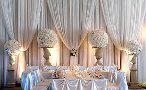 wedding draping draping for weddings and events portland wedding lights