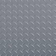 rhino anti fatigue mats garage flooring flooring the home depot 10 ft x 24 ft diamond tread commercial grade slate grey
