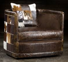 Leather Patches For Sofa Art Deco Leather Patches Swivel Chair