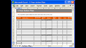 Excel Test Plan Template Plan Template Excel