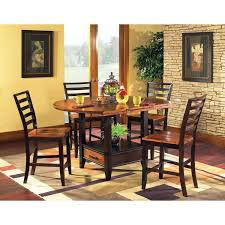 kitchen bar height kitchen table round counter height dining set