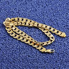diy men necklace images Gold twisted singapore chain 24inch 7mm gold color necklace for jpg