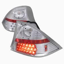 2001 honda civic tail lights pro design clear led tail lights for 2003 2002 2001 honda civic