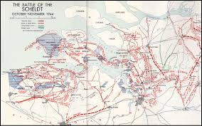 Canadian River Map Battle Of The Scheldt Canadian Battlefield Tours