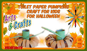toilet paper halloween crafts halloween craft for kids diy toilet paper pumpkins so easy and