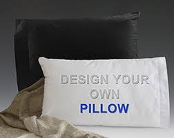 design your own pillowcase personalized pillow etsy