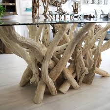 driftwood dining table dining tables