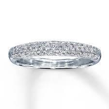 kay jewelers engagement rings kay diamond wedding band 3 8 ct tw round cut 14k white gold