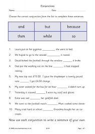 Connectives And Conjunctions Worksheets Conjunctions And Connectives Teaching Tools
