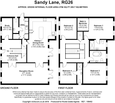 4 bedroom detached house for sale in sandy lane pamber heath rg26