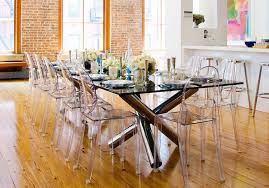 Ghost Dining Chair New Louis Ghost Acrylic Transparent Clear Philippe Starck Style