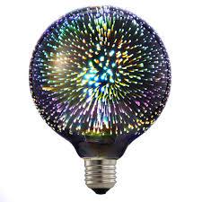 best 6w led 3d decoration light bulbs e27 ac85v 265v novelty rgb