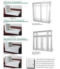 sliding glass storm doors patio doors shop patio doors at lowes com framing sliding door