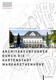 Ausstellungsk Hen Abverkauf Architekturführer Durch Die Gartenstadt Margarethenhöhe Kleine