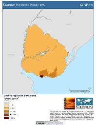 Map Of Uruguay Map Gallery Sedac