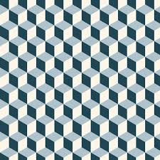 vintage cubes 3d pattern background retro vector pattern vinyl