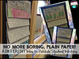 student writing paper another way to publish student writing teaching in room 6 another way to publish student writing