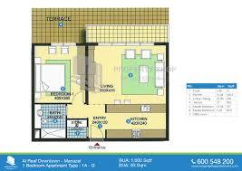 4 bedroom floor plans floor plan of al reef downtown al reef village