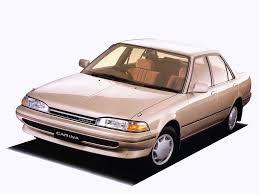 toyota carina 1988 1989 1990 седан 5 поколение t170