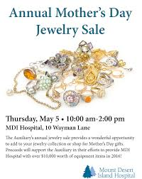mothers day jewelry sale mdi hospital annual s day jewelry sale hancock county