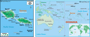 map samoa samoa map and information map of samoa facts figures and