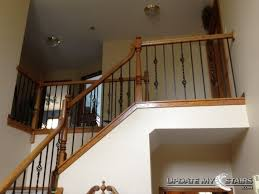 Wooden Stair Banisters And Railings 7 Best Completed Stair Projects Images On Pinterest Railings